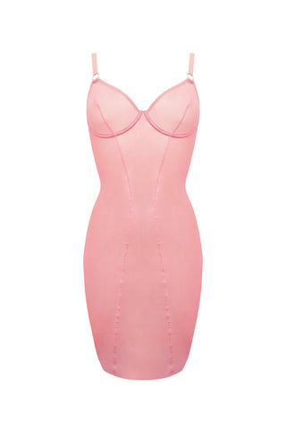 Allure pink dress - Peignoir by Mistresse. Shop on yesUndress