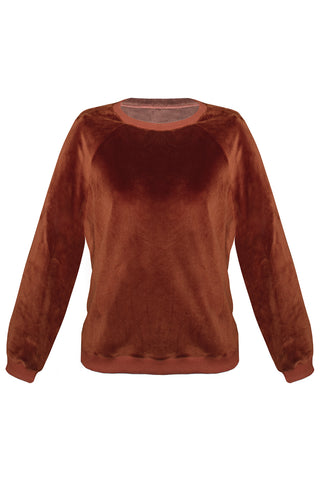 Foxy Terracotta sweater - Sweater by yesUndress. Shop on yesUndress