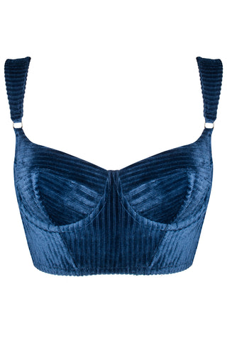 Vivien Navy bustier - Bustier by Love Jilty. Shop on yesUndress