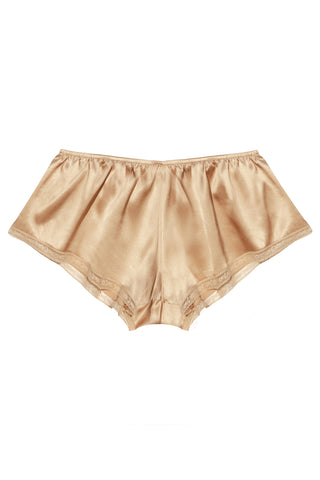 Majesté Crème silk shorts - Shorts by Closer by Keòsme. Shop on yesUndress