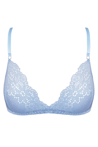 Greta Blue soft bra - Bra by WOW! Panties. Shop on yesUndress