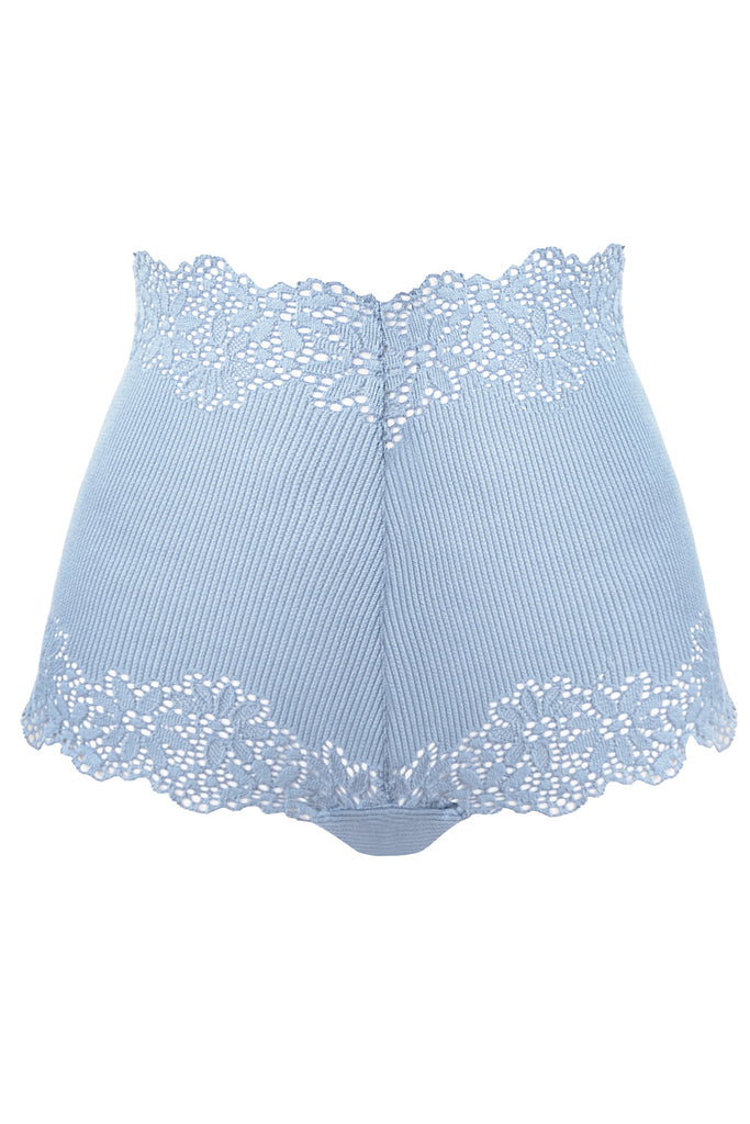 Greta blue panties - High waisted panties by WOW! Panties. Shop on yesUndress