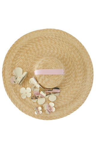 Ariadne pink straw hat - Hat by Keosme. Shop on yesUndress