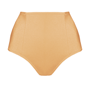 Lina gold high waisted bikini bottom - Bikini bottom by loveJilty. Shop on yesUndress
