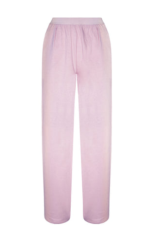 Homy pink pajama pants - yesUndress