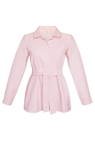 Homy pink pajama shirt - yesUndress