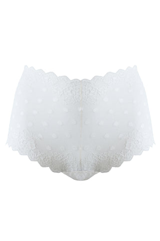 Greta ivory panties - High waisted panties by WOW! Panties. Shop on yesUndress