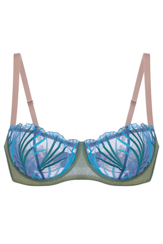 Marilyn Ocean balconette bra - Bra by Love Jilty. Shop on yesUndress
