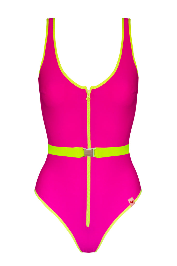 Flare Flash Fuchsia swimsuit - One Piece swimsuit by Love Jilty. Shop on yesUndress