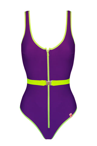 Flare Flash Violet swimsuit - One Piece swimsuit by Love Jilty. Shop on yesUndress
