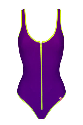 Flare Violet swimsuit - One Piece swimsuit by Love Jilty. Shop on yesUndress