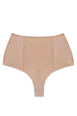 Diametra beige high waisted panties - High waisted panties by Keosme. Shop on yesUndress