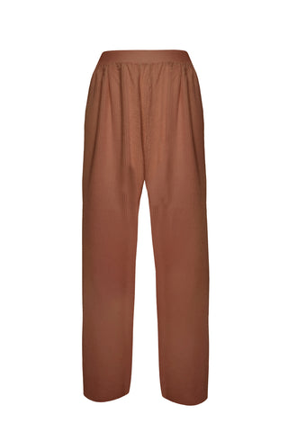 Velveteen Terracotta pants - Pants by yesUndress. Shop on yesUndress