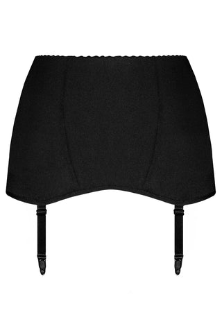 Savanna Black garter belt - yesUndress
