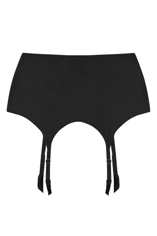 Seamless black garter belt - Garter belt by WOW! Panties. Shop on yesUndress