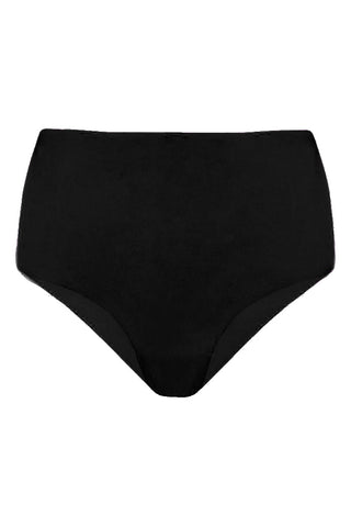 Seamless black high waisted panties - Seamless panties by WOW! Panties. Shop on yesUndress