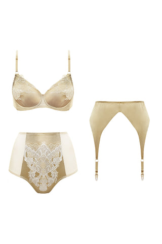 Lymantria Sample silk set - Lingerie set by Keosme. Shop on yesUndress