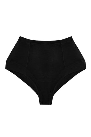 Tanta Black high waisted panties