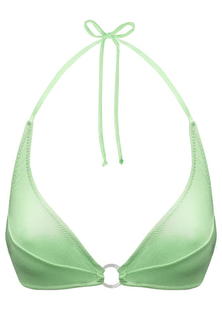 Titaniya Greenery bikini top - Bikini top by yesUndress. Shop on yesUndress