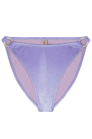 Titaniya Lilac high waisted bikini bottom - Bikini bottom by yesUndress. Shop on yesUndress