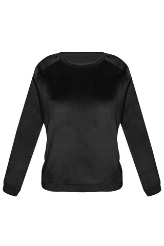 Foxy Black sweater - Sweater by yesUndress. Shop on yesUndress