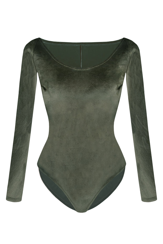 Foxy Olive bodysuit - yesUndress