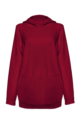 Velveteen Ruby hoodie - Sweater by yesUndress. Shop on yesUndress