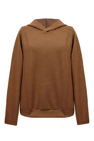 Wendy Terracotta hoodie - Sweater by yesUndress. Shop on yesUndress