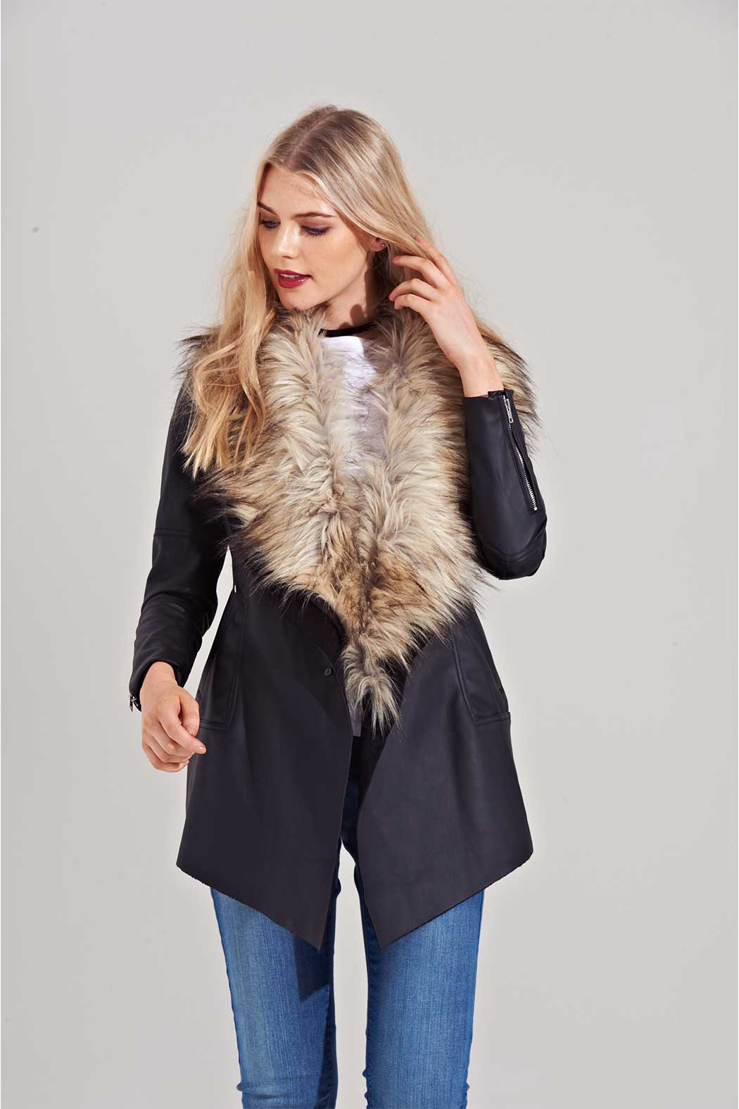 Florence Waterfall Coat