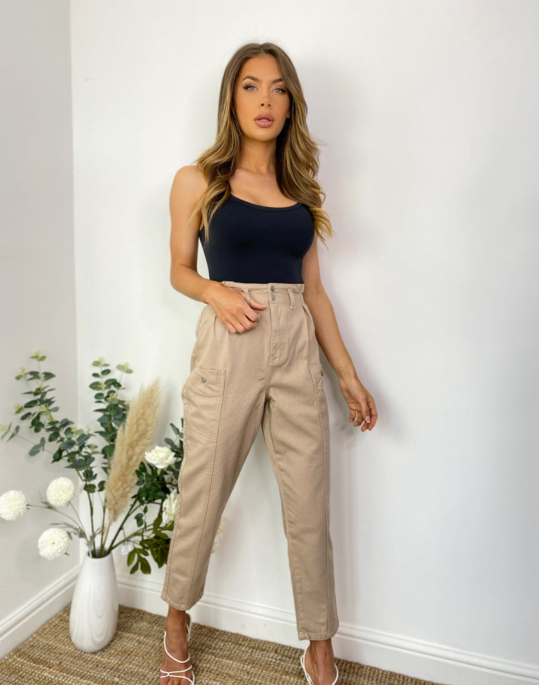 Desert Paperbag Trousers