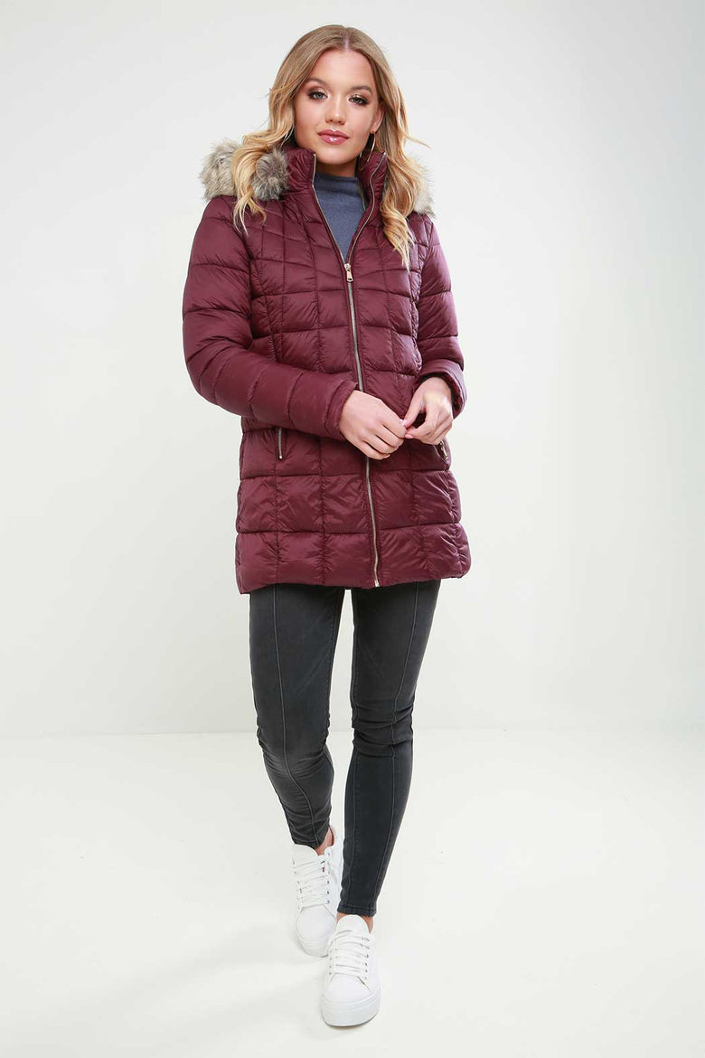 Piper Longline Padded Jacket