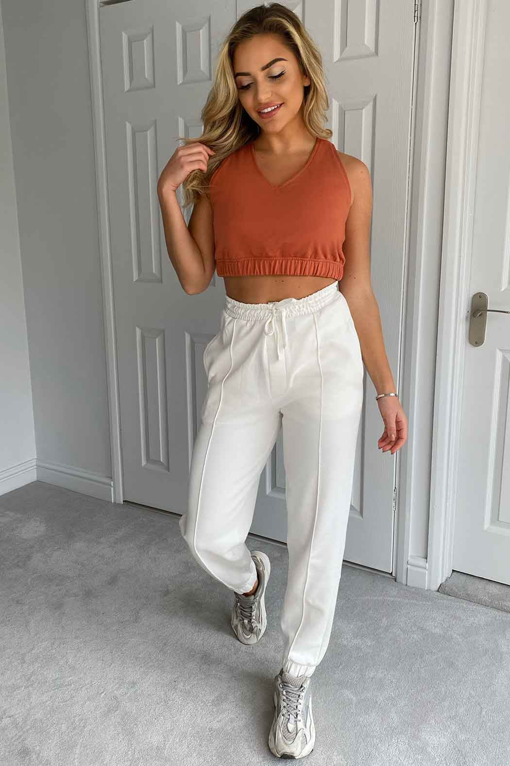 Casey Crop Sweat
