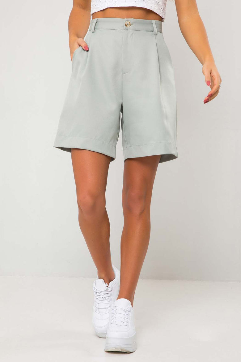 Taylor Mint Green City Co Ord Short