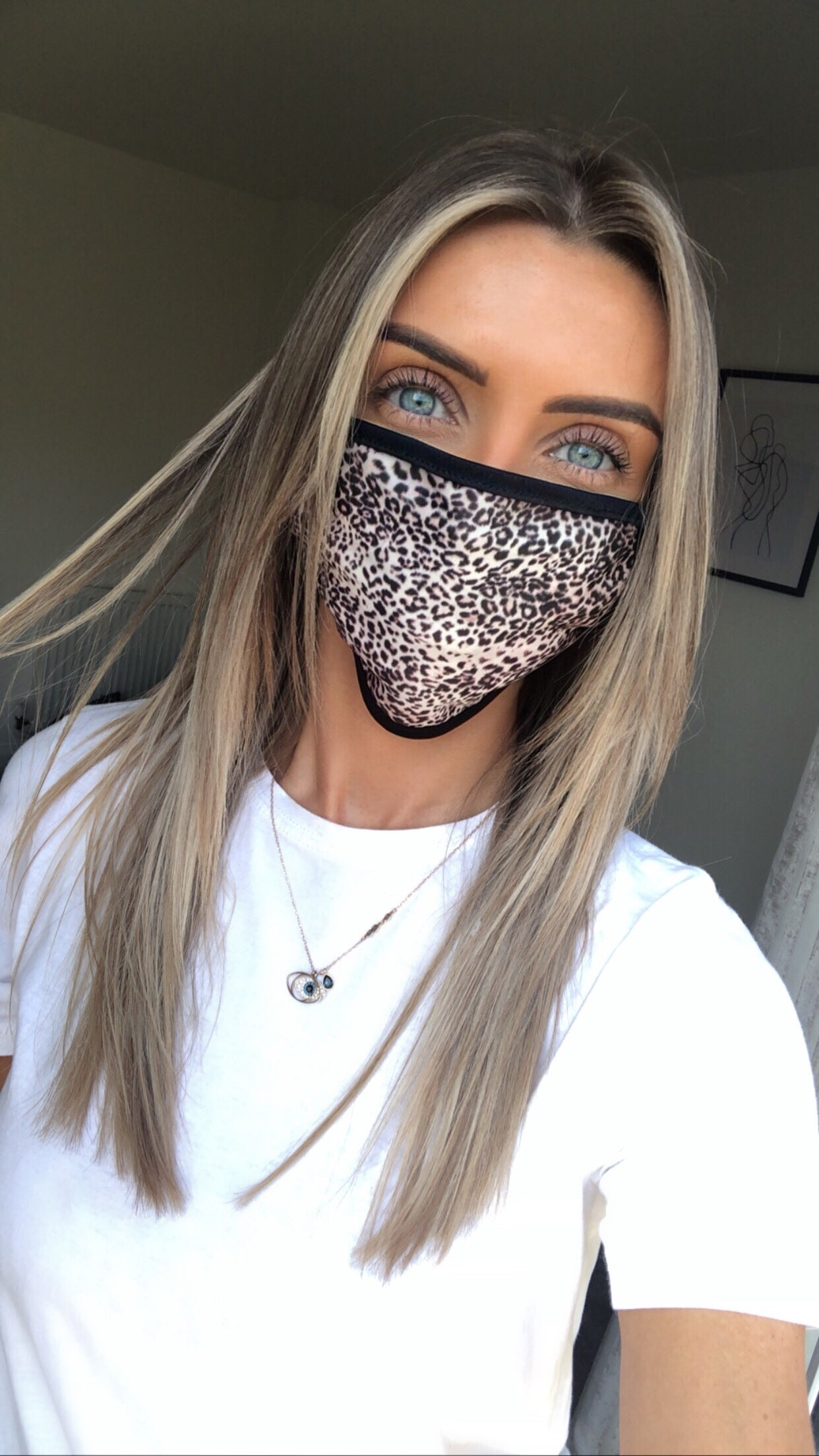 Leopard Animal Face Covering