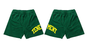 Mesh Shorts Green/Yellow