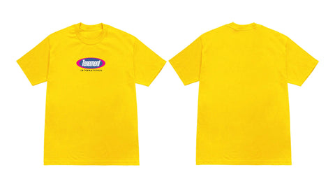 Tenement International Tee Yellow