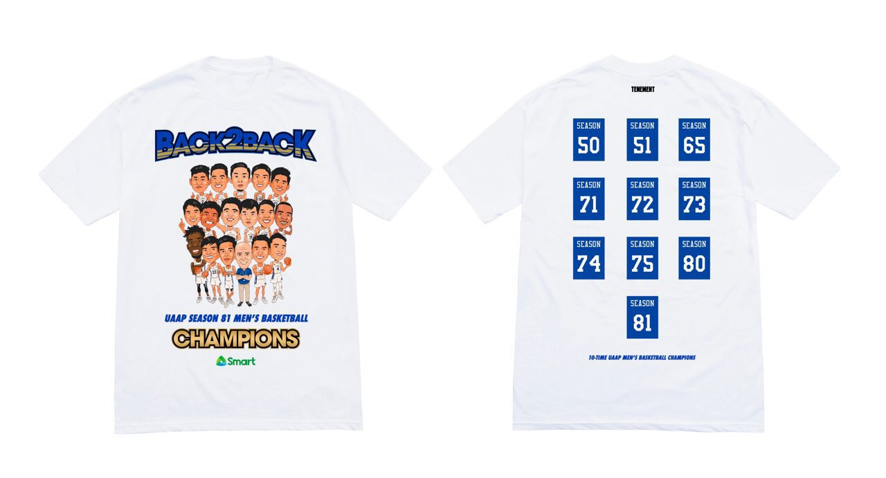Ateneo Back 2 Back Championship Tee