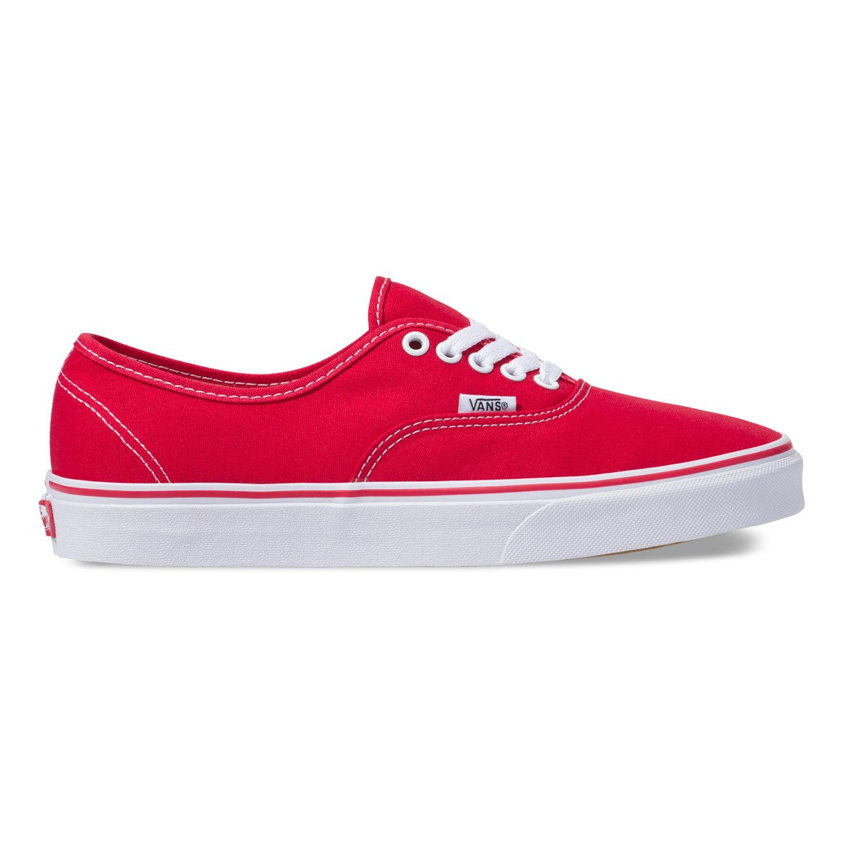 Zapatillas Vans Authentic Plain - Red - Vans