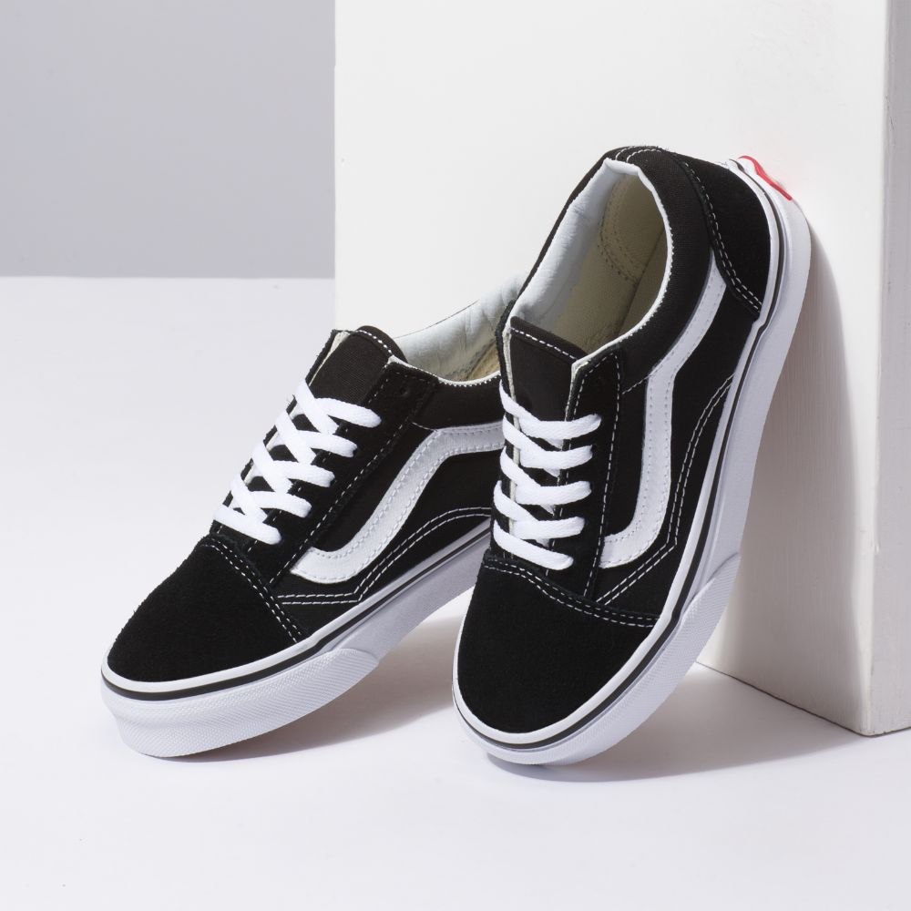 Zapatillas Vans Old Skool Black/True White - Vans