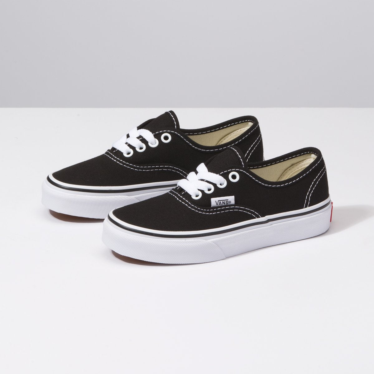 Zapatillas Vans de Niños Authentic - Black/True White - Vans
