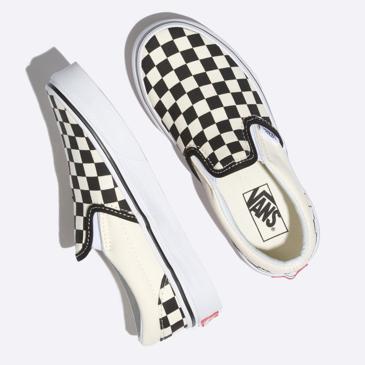 Zapatillas Vans de Niños Classic Slip-On - Black/White - Vans