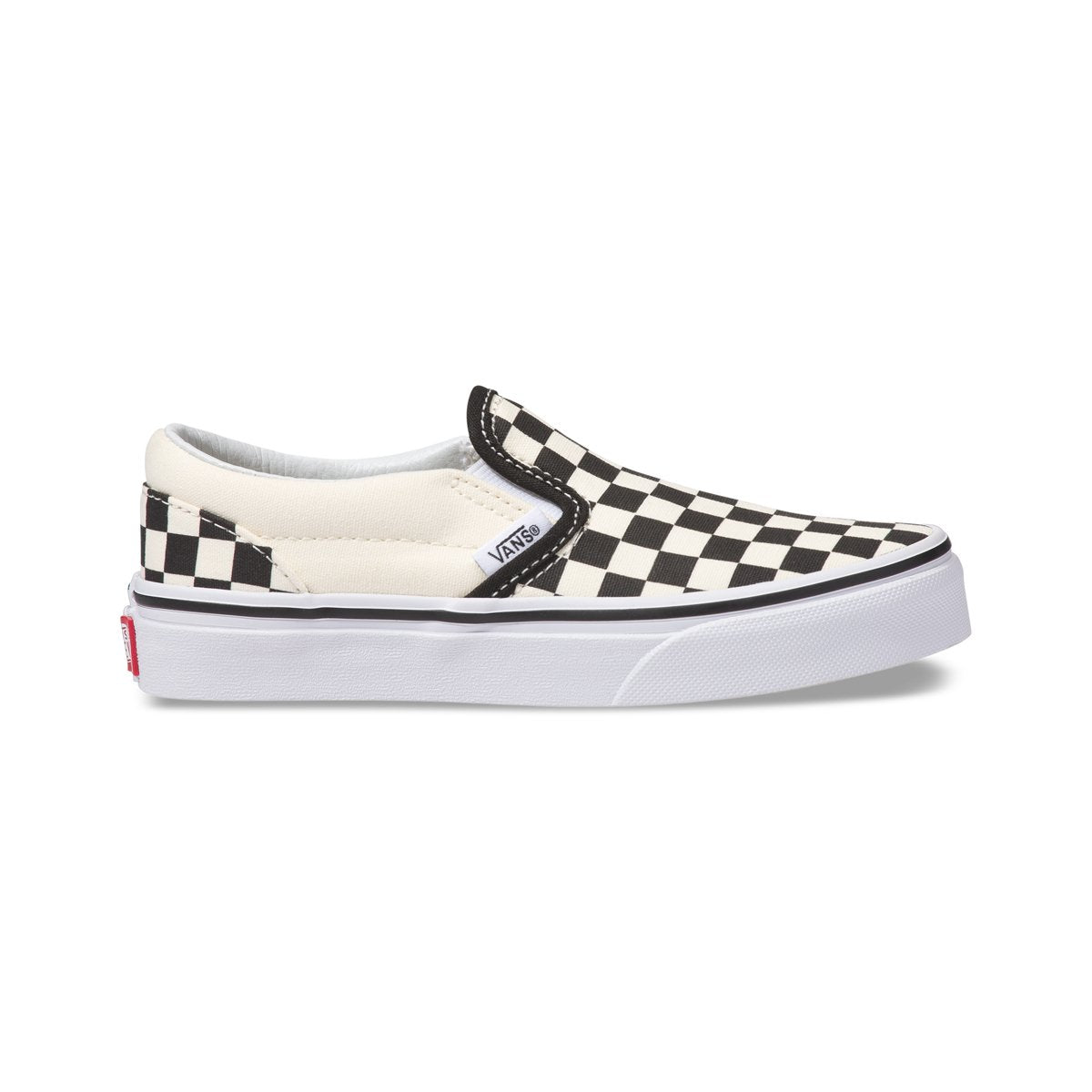 Zapatillas Vans de Ni??os Classic Slip-On - Black/White - Vans