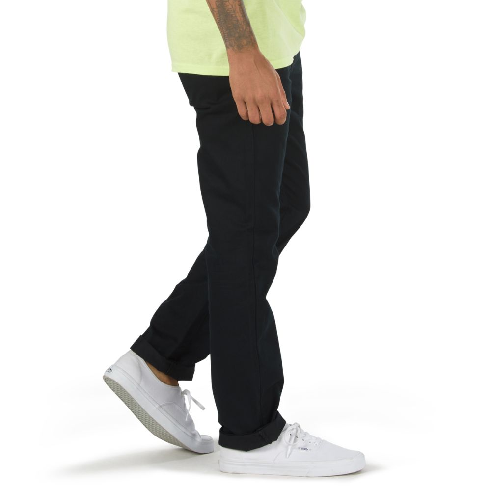 Pantalon Vans Authentic Chino Stretch Black - Vans