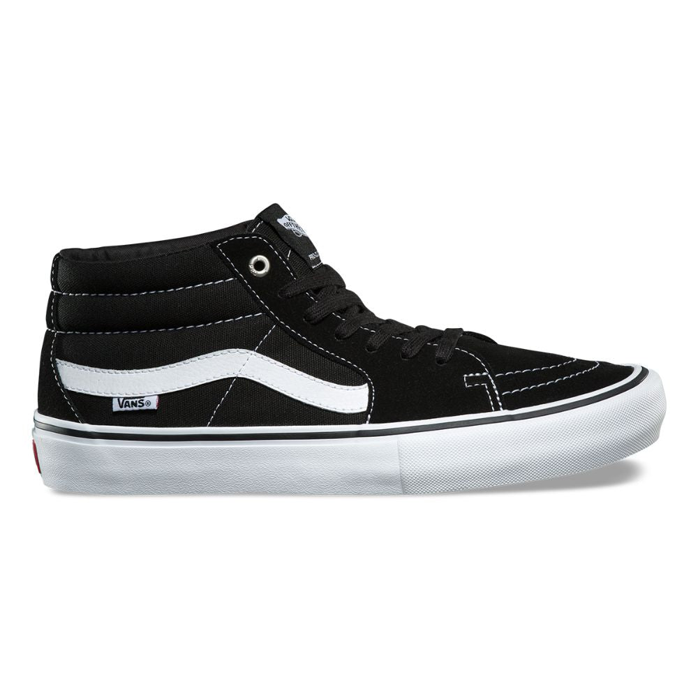 Zapatillas Vans Sk8-Mid Pro Black/White - Vans
