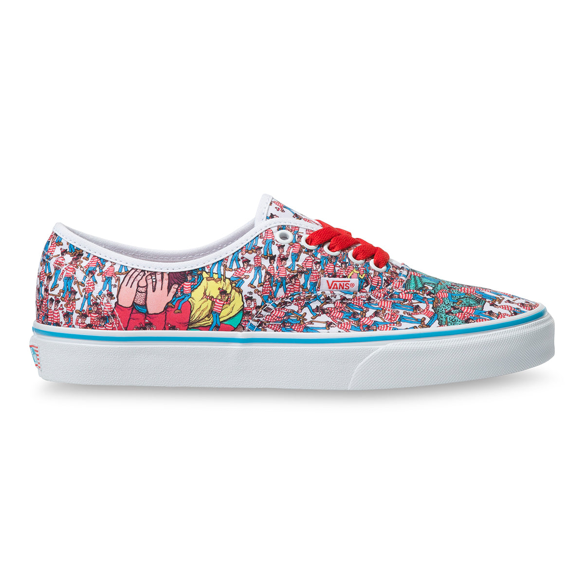 Vans X Where's Waldo? Authentic