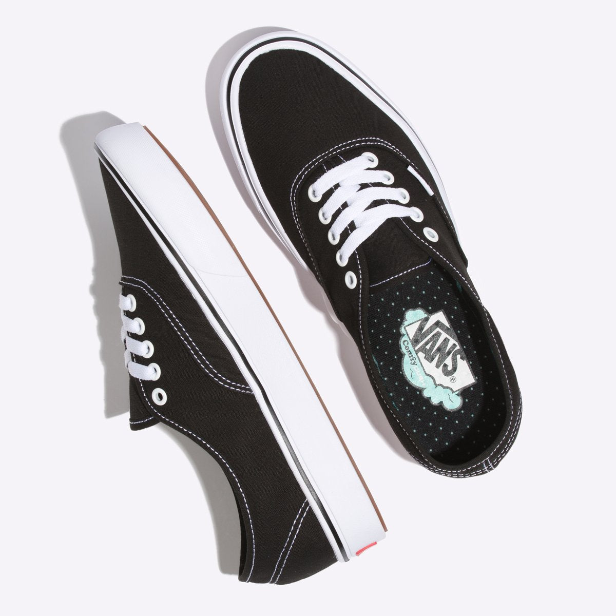 Zapatillas Vans ComfyCush Authentic - Black/True White - Vans