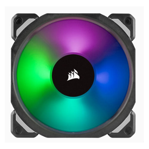 Corsair ML120 PRO RGB 3 Fan Pack with Lighting Node Pro, 120mm Premium Magnetic Levitation RGB LED PWM Fan