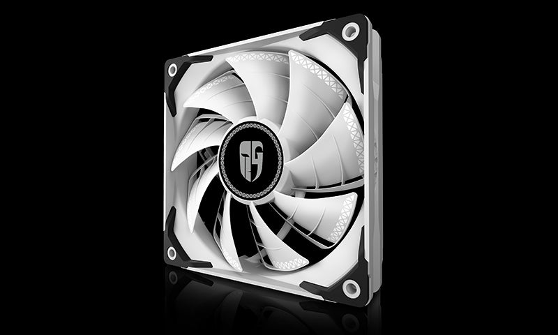 Deepcool TF 120S White Colour The Beast Unleasing RADIATOR FAN