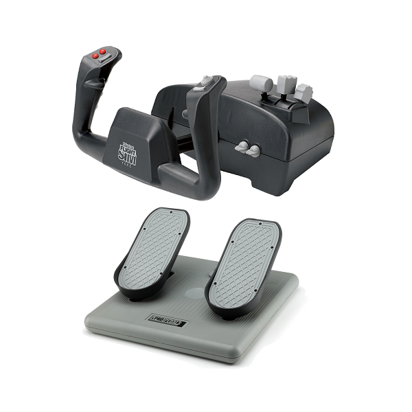Aviator Pack For PC & Mac (Inc USB Yoke & Pro Pedals)