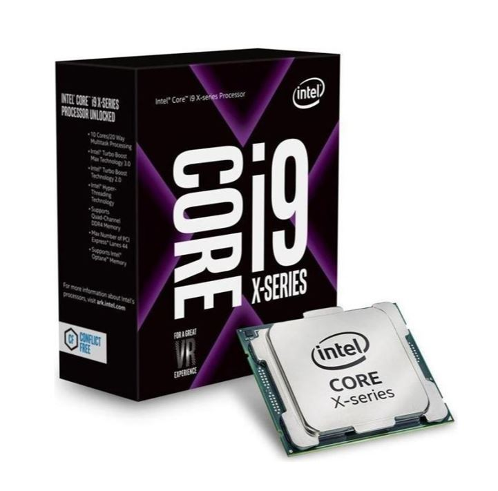 Intel Core i9-10940X CPU 3.3GHz (4.6GHz Turbo) LGA2066 X Series 10th Gen 19MB 14-Cores 28-Threads 165W Boxed no Fan Cascade Lake
